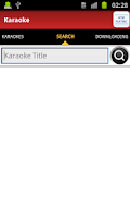 Screenshot of Android Karaoke