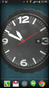 3D Pocket Watch Live Wallpaper - screenshot
