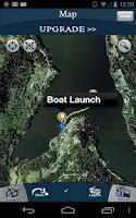 Screenshot of Trimble GPS Fish Free