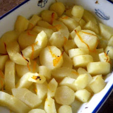 Honey- Orange Parsnips