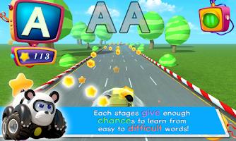 Screenshot of Vroomiz ABC Racing