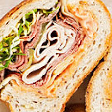 Super-Stuffed Deli Sandwich