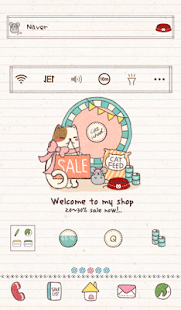 Sales Cat Dodol Theme - screenshot