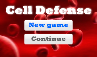 Screenshot of Cell Defense