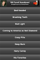 Screenshot of Will Ferrell Soundboard