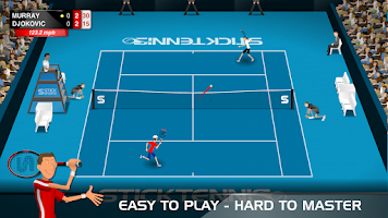 Screenshot of Stick Tennis