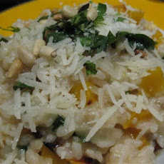 Pumpkin, Lemon and Basil Risotto