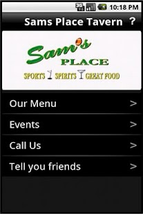 Sam's Place Tavern - screenshot