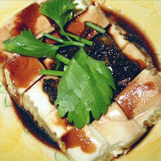 Steamed Bean Curd With Soy Sauce