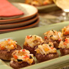 Crab & Veggie Stuffed Mushrooms