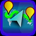 Hiking GPS icon