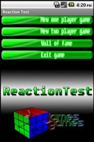 Screenshot of 2-Player Reaction Test