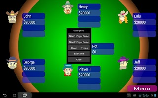 Screenshot of Offline Poker Texas Holdem