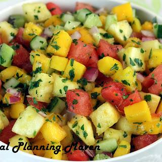 Pineapple Mango Kiwi Salsa Recipes