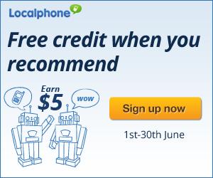 free credit, international calls