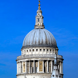 St Pauls by Victor Burnside - Buildings & Architecture Places of Worship ( religion, building, st pauls, england, church of england, london, wren, dome, cathedral, architecture )