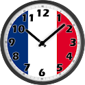 France Clock icon