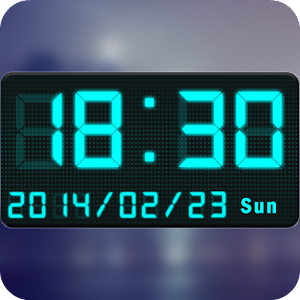 Digital Clock Widget & Tools - personalize your Android with LED clock widgets
