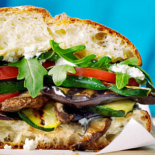 Grilled Mediterranean Vegetable Sandwiches