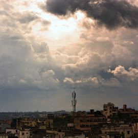 JUST BEFORE RAIN by Ravi Kashyap - Landscapes Weather ( clouds, weather, evening )