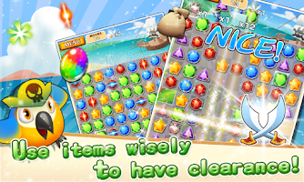 Screenshot of Jewel Pirates - Puzzle game