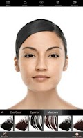 Screenshot of Mary Kay® Virtual Makeover