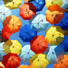 Colorful umbrellas by Antonio Amen - Artistic Objects Other Objects ( colorful umbrellas )