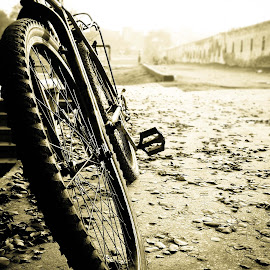 left behind by Mian Mubeen - Transportation Bicycles ( Bicycle, Sport, Transportation, Cycle, Bike, ResourceMagazine, Outdoors, Exercise, Two Wheels )