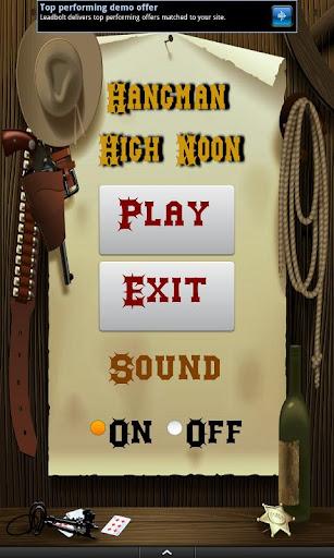 Hangman High Noon