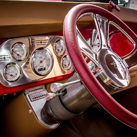 Classy Interior by Ron Meyers - Transportation Automobiles ( 2013 tahlequah car show )