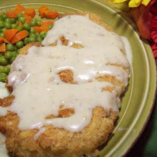 Chicken-Fried Steak  (Chicken With Creamy Gravy)