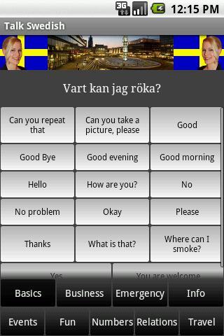 Talk Swedish