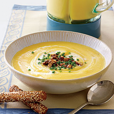 Creamy Ginger-Parsnip Soup