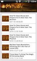 Screenshot of Personal Finance Firewall Blog
