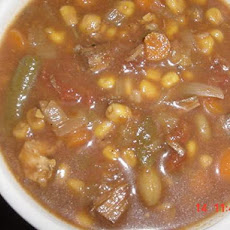 Vegetable Soup in the Crock-Pot