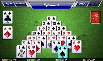 Screenshot of zzzAces Solitaire Pack 2