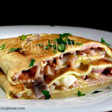 Chef Flower's Simple Sunday Brunch Omelette