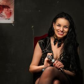 Lorena Lupu by Andrei Grososiu - People Musicians & Entertainers ( woman, event, romania, writer, portrait )