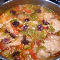 Pork Chops With Vinegar and Peppers