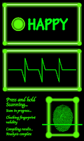 Screenshot of Fingerprint Scanner, Mood Scan
