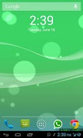 Screenshot of iOS 7 Live Wallpaper 3D