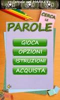 Screenshot of Cerca Le Parole Free
