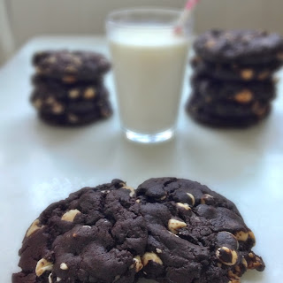 Chewy Chocolate-White Chocolate Chip Cookies