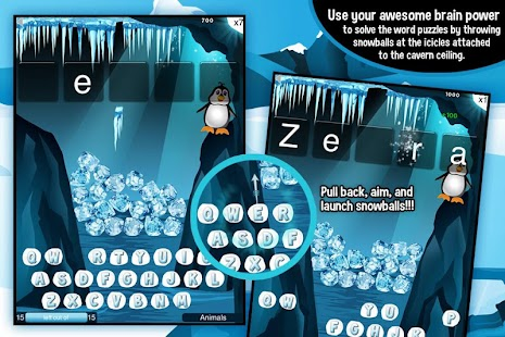 Learning Gems - Penguin Rescue - screenshot