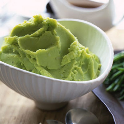 Chive and Parsley Mashed Potatoes