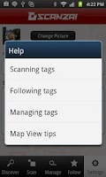 Screenshot of Scanzai: Discover, Scan, Share