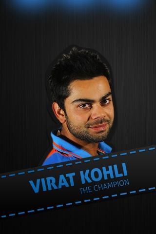 Virat Kohli The Champion