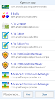 Screenshot of APK Permission Remover