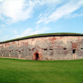 Fort Macon by Ashley Whitford - Buildings & Architecture Public & Historical