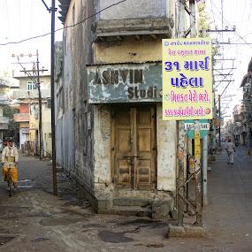street ofl ife by Nirav Raval - City,  Street & Park  Street Scenes ( life, crossroad, streetroad, street )